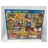 """Sealed White Mountain puzzle """"Games We Played"""""""