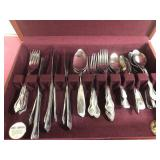 Mixed Lot of flatware with Box