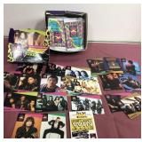 1991 Pro Set Super Stars Music Cards About 30