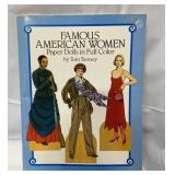1987 Famous American Women PaperDdolls in Full