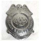 Vintage School Safety Patrol Badge