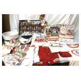 Lot of vintage St. Louis sports memorabilia,