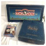 Trivia Pursuit, Monopoly and Travel Game