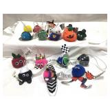 Lot of little pom-pom characters