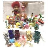 Lot of vintage toys including McDonald