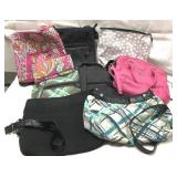 """Lot of """"Thirty-One"""" and """"Vera Bradley"""" purses"""