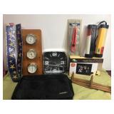 Barometer, clock, NEW items, lights, more