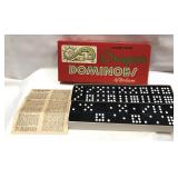 Vintage Double 9 Dragon Dominoes by Halsam-