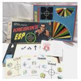 Vintage 1967 Kreskin ESP game Milton Bradley –