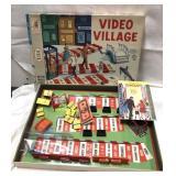 Vintage 1960 Milton Bradley Video Village game –