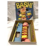 Vintage 1965 Milton Bradley Bash game – complete