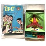 Vintage 1965 Ideal Tip-It game – complete