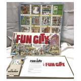 Vintage 1987 Parker Brothers Fun City game-