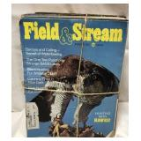 Entire year of 1975 Field and Stream magazines