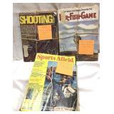 Vintage 1970s magazines – Shooting Times 1973