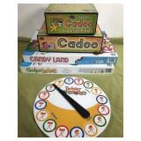 Lot of Board Games, Cranium with Booster and More