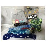 Lot of girls shirts, sweatshirt and socks, size