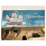Scientific Golden Hind Box and Instruction No