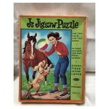 Vintage Whitman Junior jigsaw puzzle 1960 to 70