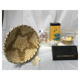 Easter decorative items, Steve Madden wallet and