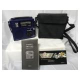LL Bean AM/FM shortwave radio with carrying case