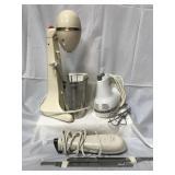 KitchenAid mixer, Hamilton Beach drinkmaster and