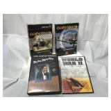Lot of history channel DVD