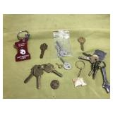 Keys, Keychains and Small Craftsman Wrench