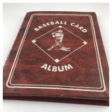 Baseball Card Collection in album