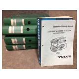 Lot of Volvo service manuals