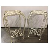 2- Metal Plant Stands