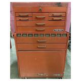 Test right toolbox empty measures 43 x 28 x 12