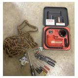 Chain tools and inter air compressor