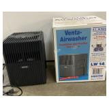 Venta air washer with box looks like it