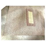 """Two nice rugs, large one is 83"""" x 60"""", small one"""