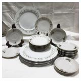 Various pieces of China including Nippon,