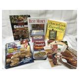 Pampered Chef cookbooks, various cookbooks and