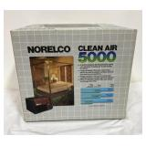 Norelco Clean Air 5000 in box, appears to be a