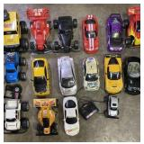 Lot of RC cars-untested