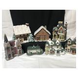 Christmas decorative houses