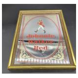 Johnnie Walker Red Mirror Advertisement