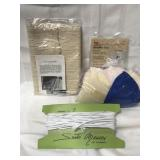 Bag of shoulder pads, sewing cotton rope and