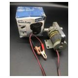 (2) Electric pump and 12v Utility Pump