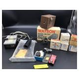 Camera and camera supplies