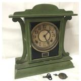 Ingraham Eight Day clock with key