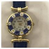 Venice quartz watch w/ case, made in Italy