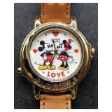 Disney Lorus Watch Mickey and Minnie love