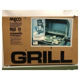 MECO Deluxe portable electric grill new in the