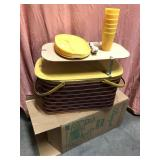 New in the box never used vintage banquet picnic