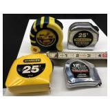 5 Tape Measures